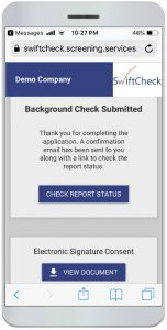 Mobile Background Check Technology